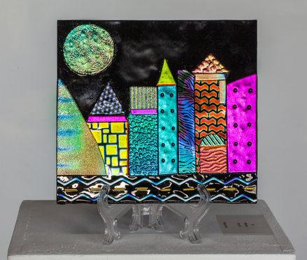 "Nancy Hunter, ""Midnight Cityscape"""