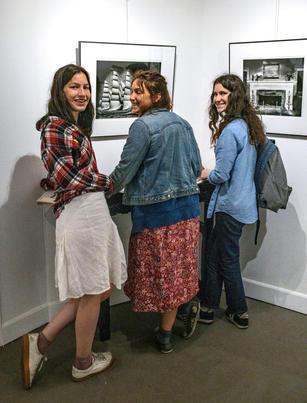 Visitors at Alhambra Farewell Installation