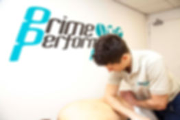 sports massage treatment