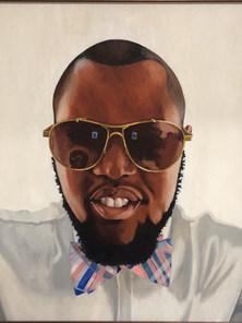 Portrait of Ahmed Mubark by Robert Brown