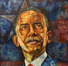 Barack Obama, 2018 by Roho Garcia