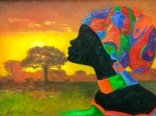Lady Dusk by Lessie Venardo Dixon