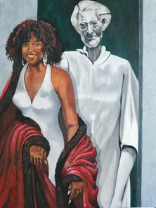 """""""Thalia"""" with a Nod to Joyce Owens by Robert Brown"""
