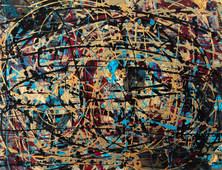 Thinking of Pollock by Jennifer Hodges