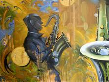 Saxs, 2011 by Lessie Venardo Dixon