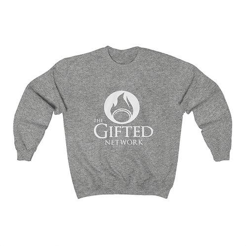 GIFTED Logo Unisex Heavy Blend Crewneck Sweatshirt