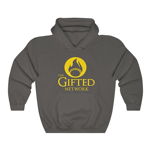 *Limited Edition Gold on Black* GIFTED LOGO Unisex Heavy Blend Hooded Sweatshirt