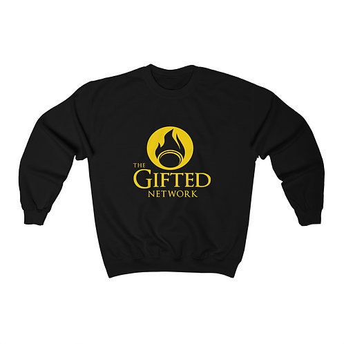 *Limited Edition Gold on Black* GIFTED Unisex Heavy Blend Crewneck Sweatshirt