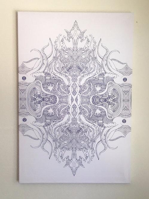 """""""Rise"""" Canvas Print 24x16"""