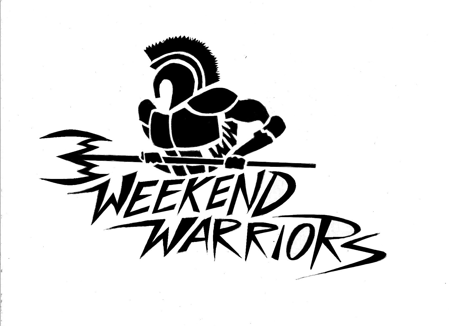 Weekend Warriors Basketball Design