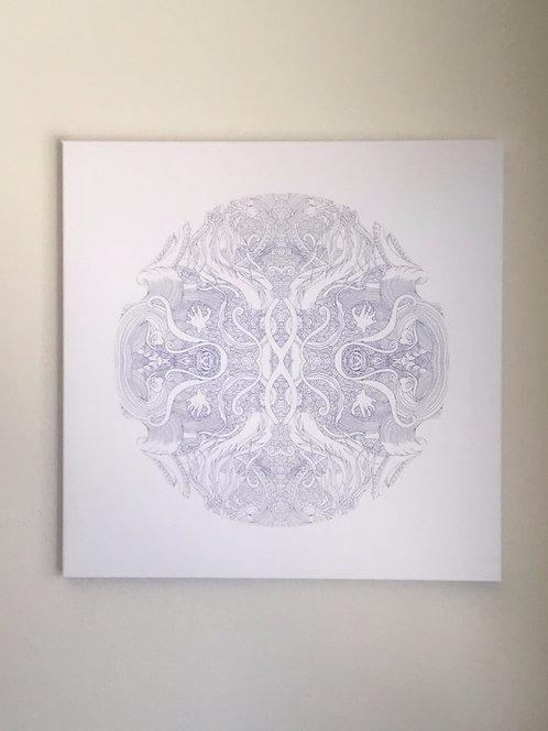 """""""Rise"""" Canvas Print 24x24"""