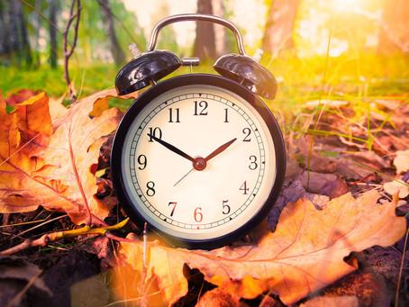 Daylight Savings November 4th!