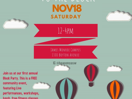 BEACON: Community service event this Saturday, November 18th 2017 (Haga clic en la publicación para