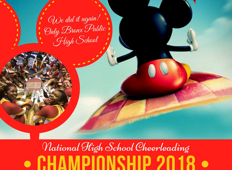 Come Send Off Our Cheerleaders to Disney Feb 7.
