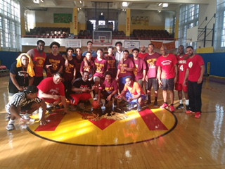 Student vs Staff Basketball Game Sponsored by the Beacon Program