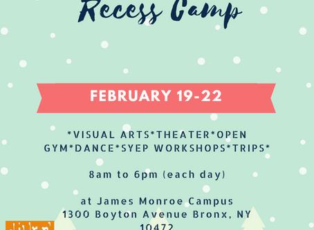 Mid-Winter Recess Camp