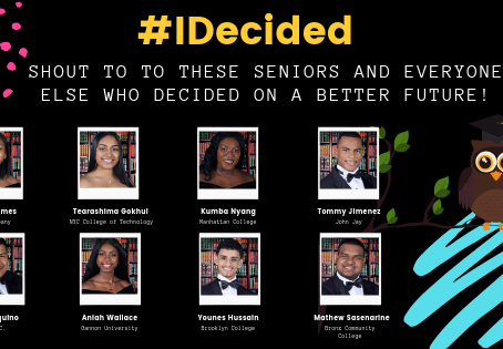 #IDECIDED Congrats to our seniors for choosing a brighter future!