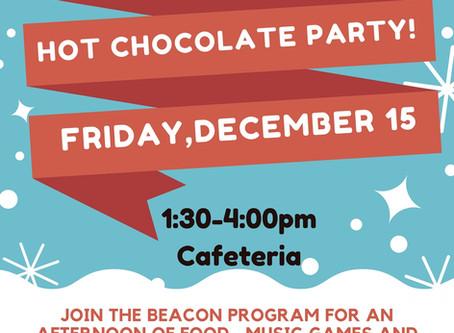 BEACON Holiday Social December 15th