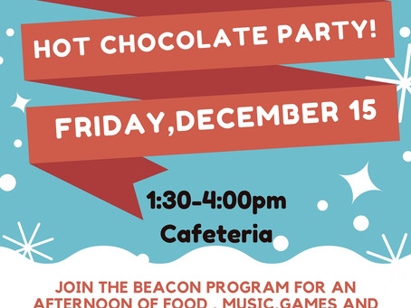 BEACON Holiday Social December 15th