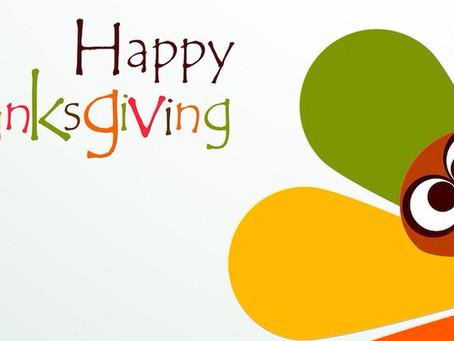 Happy Thanksgiving Everyone!                  (haga clic en la publicación para español)
