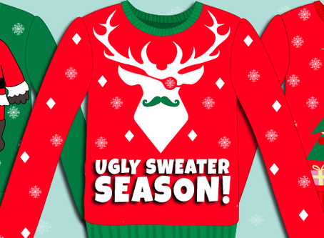 Last Spirit Day of The Month: Ugly Holiday Sweater/ Festive Holiday Gear Day December 21st