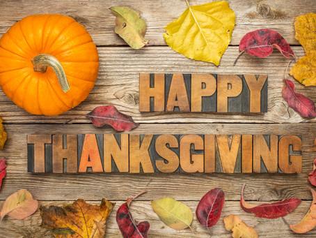 Thanksgiving Recess School Closed Nov 22nd - 23rd