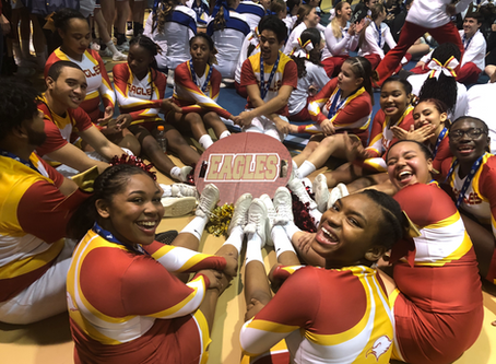 James Monroe Eagles Cheerleaders Are Going To Nationals 2018!