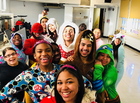 Second Spirit Day of The Month: Dec 14th Onesie Pajama Day!