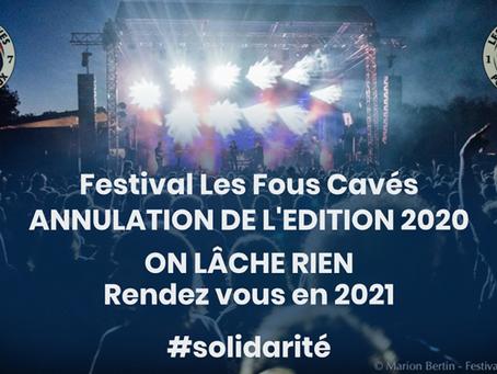 Report du Festival Les Fous Cavés