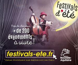 Festivals d'été 2018 en Nouvelle Aquitaine
