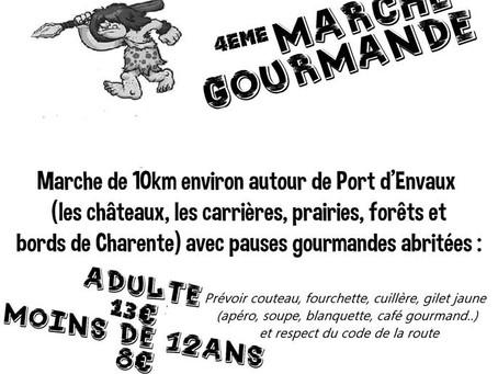 4ème Marche Gourmande - Dimanche 21 Octobre