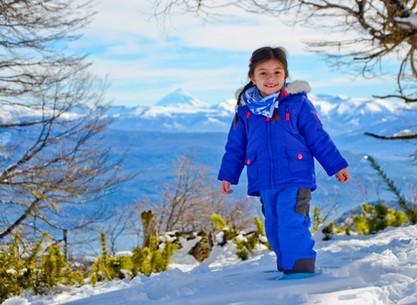 Ski week with kids