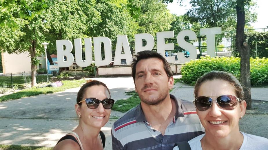 La odisea de llegar a Budapest