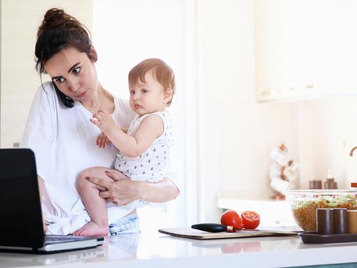 Maternar y emprender: hermoso dilema 💖