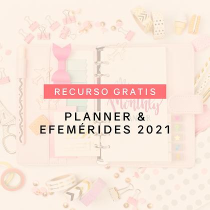 Planner & Efemérides 2021