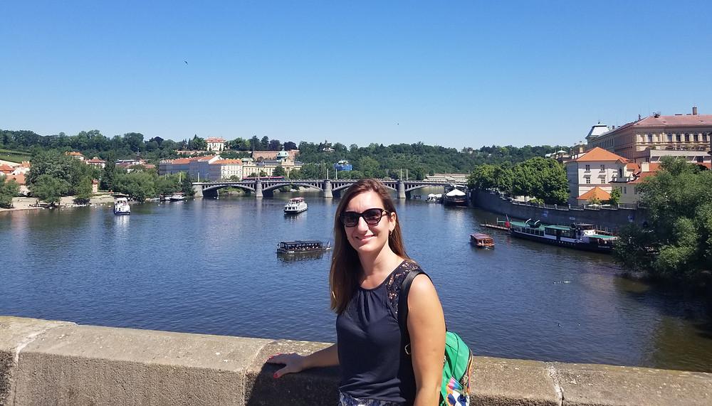 Vista desde el Puente Carlos