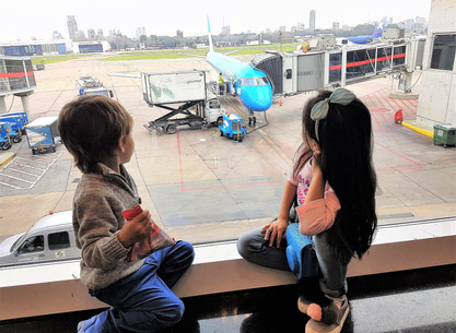 Viajar con niños en avión? No es tan difícil como parece!