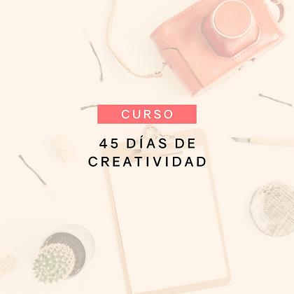 Curso 45 días de creatividad