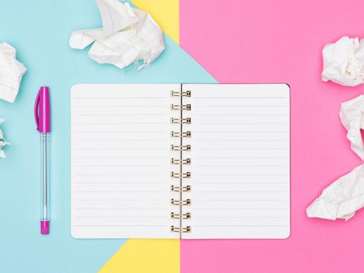 3 tips para evitar el miedo a la página en blanco ✍