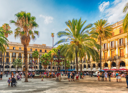 Barcelona on foot