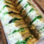 We trialled some GF club sandwiches yest