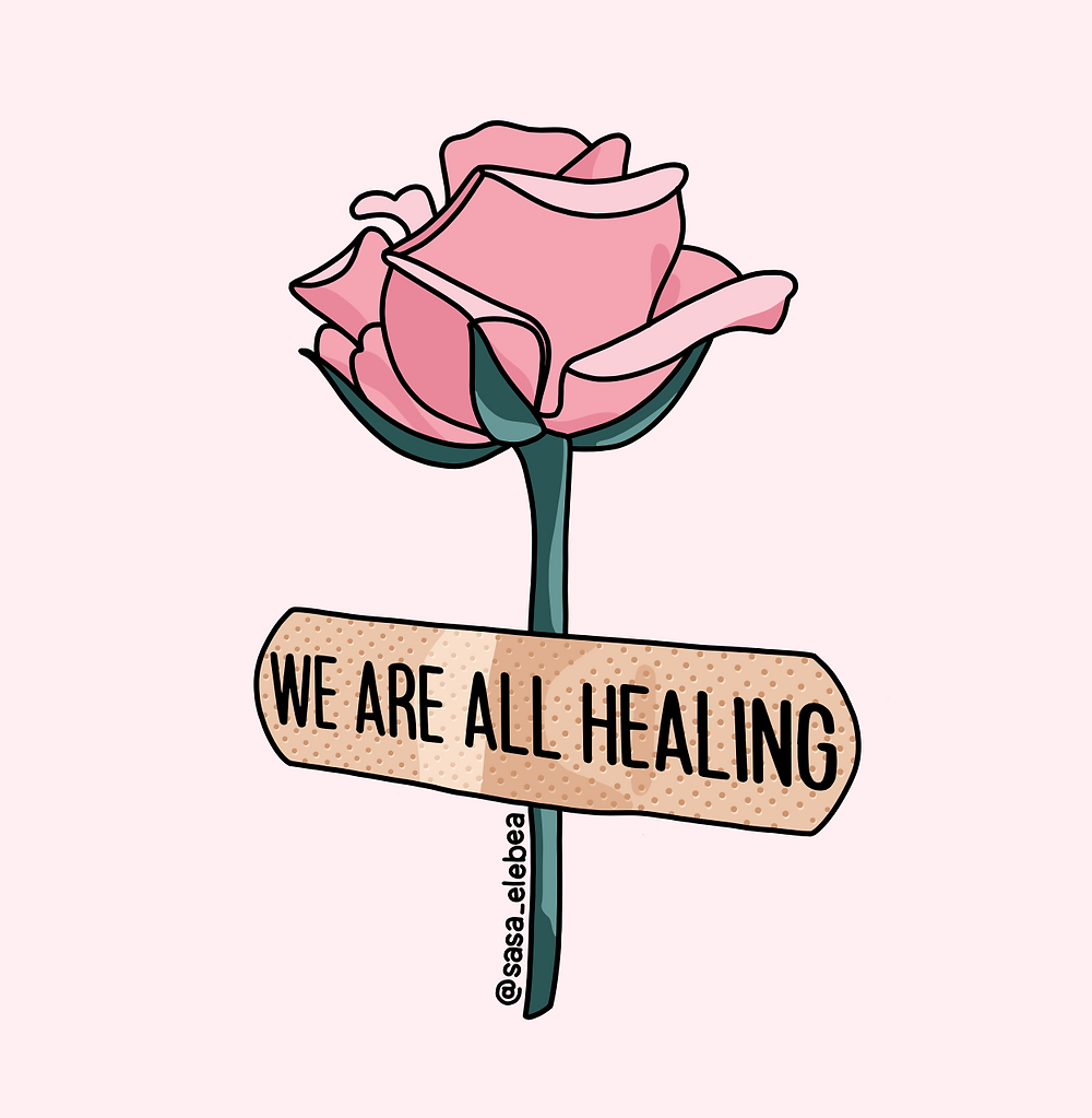 Sasa Elebea healing flower rose