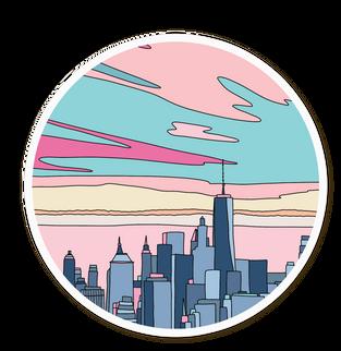 City sunset >