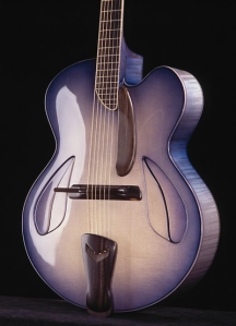 THE JAZZ GUITAR – A GALLERY OF CUSTOM ARCHTOP GUITARS