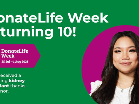 DonateLife activities around the ACT to look out for next week