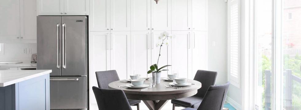 New Kitchen Table & Storage