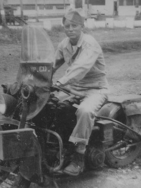 PeePaw on Motorcycle