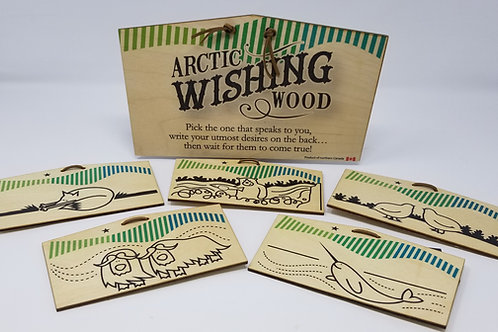Arctic Wishing Wood!