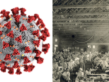 St. James during the Spanish Flu