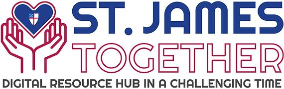 St James Together Logo with Crest SHR WI